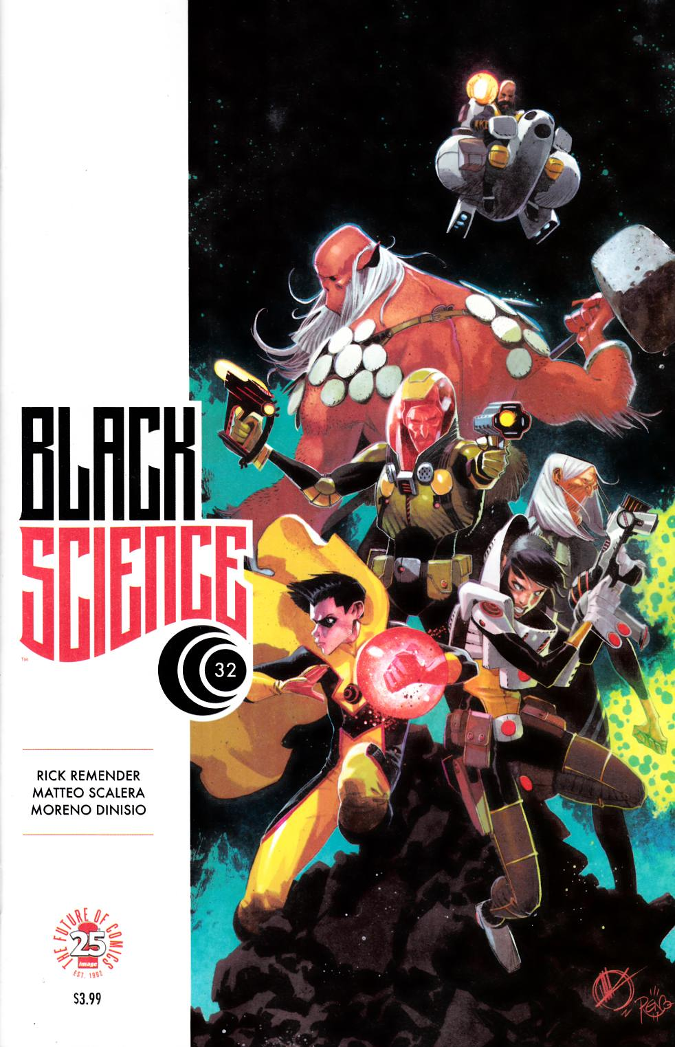 Black Science #32 Cover A [Image Comic] THUMBNAIL