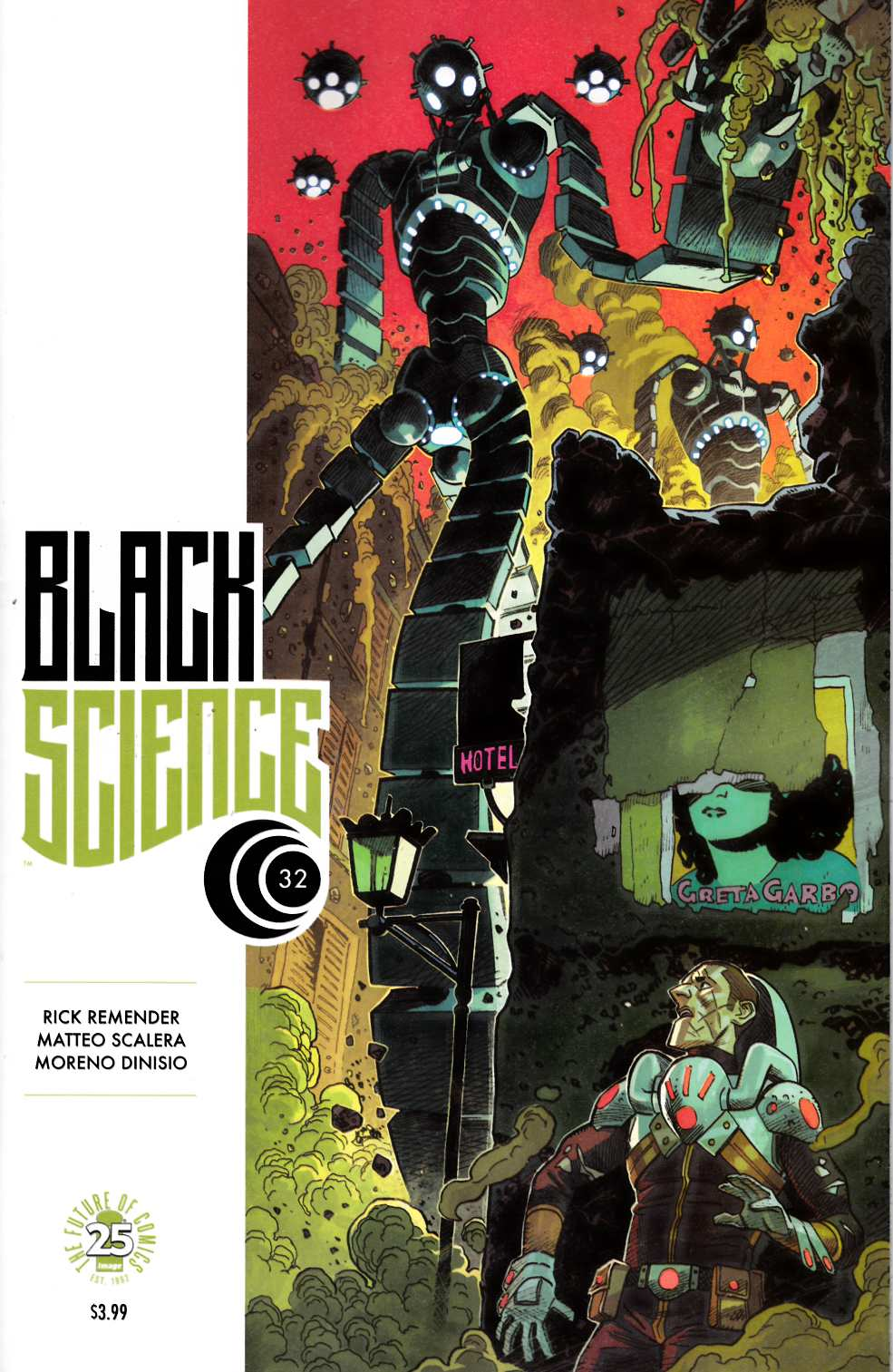 Black Science #32 Cover B [Image Comic] THUMBNAIL