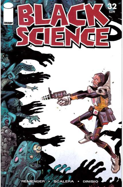 Black Science #32 Cover C- Walking Dead #50 Tribute Cover [Image Comic] THUMBNAIL