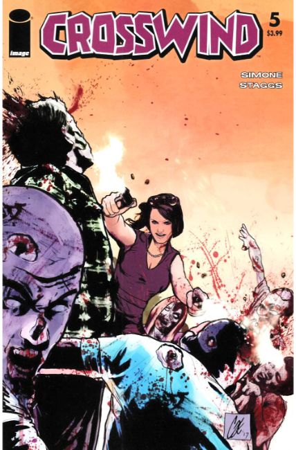Crosswind #5 Cover C- Walking Dead #54 Tribute Cover [Image Comic] THUMBNAIL