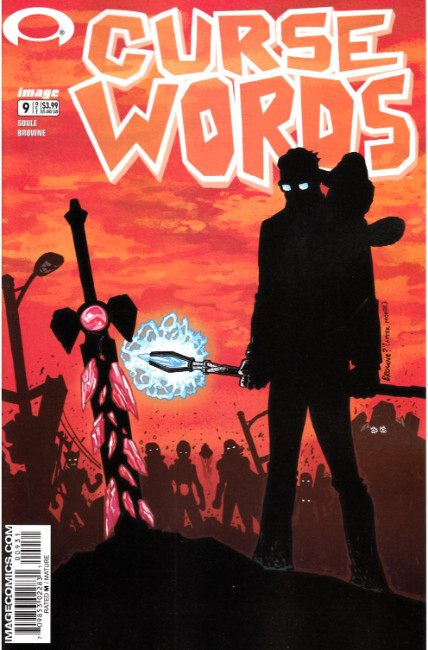 Curse Words #9 Cover C- Walking Dead #6 Tribute Cover [Image Comic] LARGE