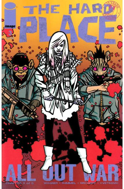 Hard Place #3 Cover D- Walking Dead #116 Tribute Cover [Image Comic] THUMBNAIL