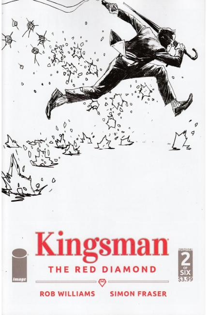 Kingsman Red Diamond #2 Cover B [Image Comic]