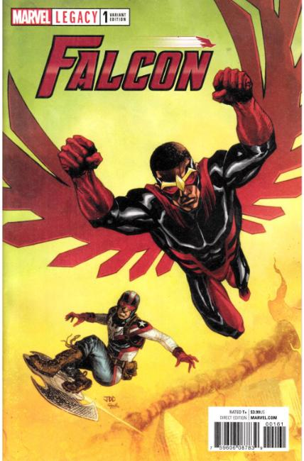 Falcon #1 Cassara Variant Cover [Marvel Comic] THUMBNAIL