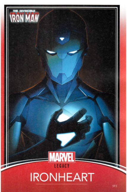 Invincible Iron Man #593 Christopher Trading Card Variant Cover [Marvel Comic]_LARGE