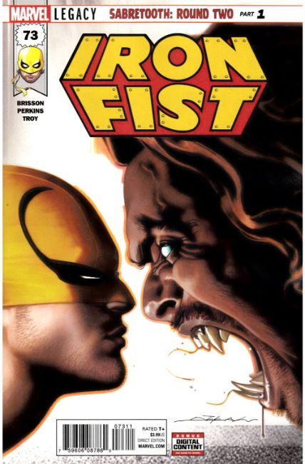 Iron Fist #73 [Marvel Comic] THUMBNAIL