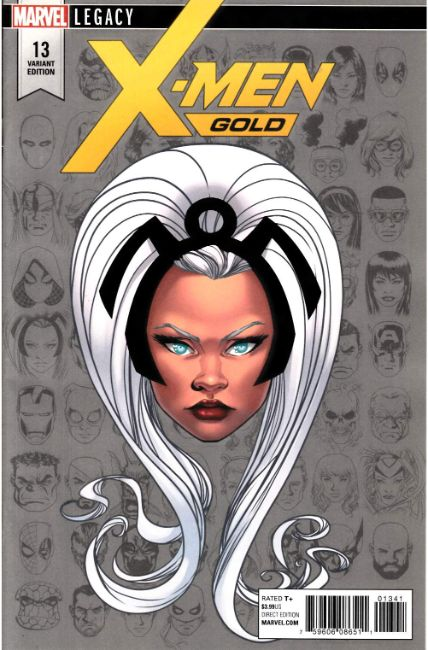 X-Men Gold #13 McKone Legacy Headshot Variant Cover [Marvel Comic]_LARGE