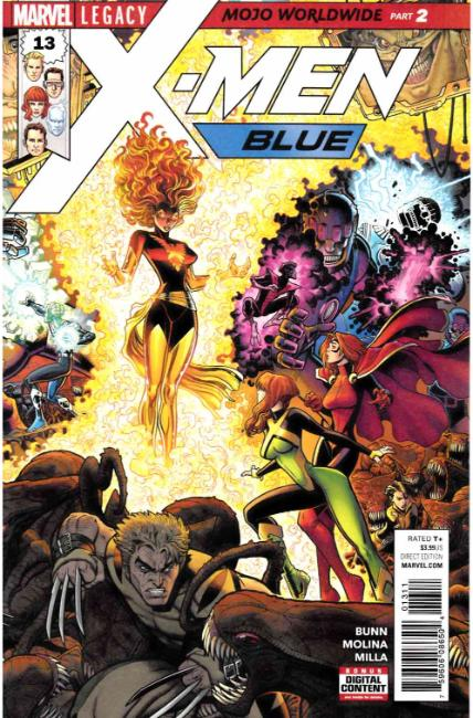 X-Men Blue #13 [Marvel Comic]_THUMBNAIL