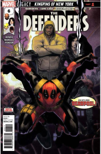 Defenders #6 [Marvel Comic] LARGE