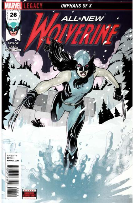 All New Wolverine #26 Near Mint (9.4) [Marvel Comic] THUMBNAIL