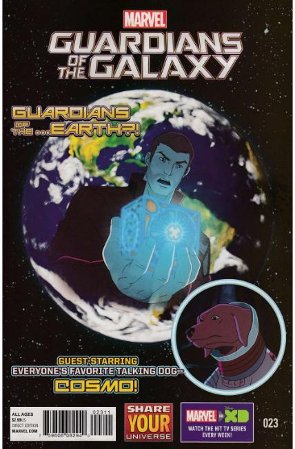 Marvel Universe Guardians of the Galaxy #23 [Marvel Comic]