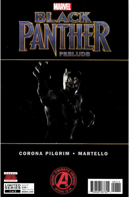 Black Panther Prelude #1 [Marvel Comic] THUMBNAIL