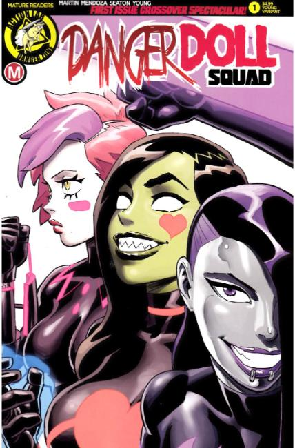 Danger Doll Squad #1 Cover E- Winston Young [Danger Zone Comic] THUMBNAIL