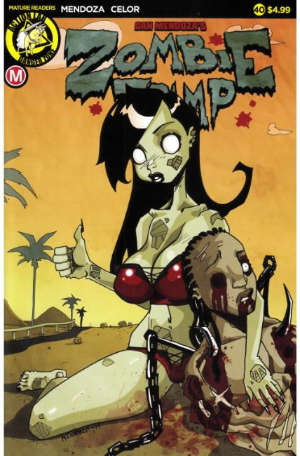 Zombie Tramp Ongoing #40 Cover A- Mendoza [Action Lab Comic]_THUMBNAIL