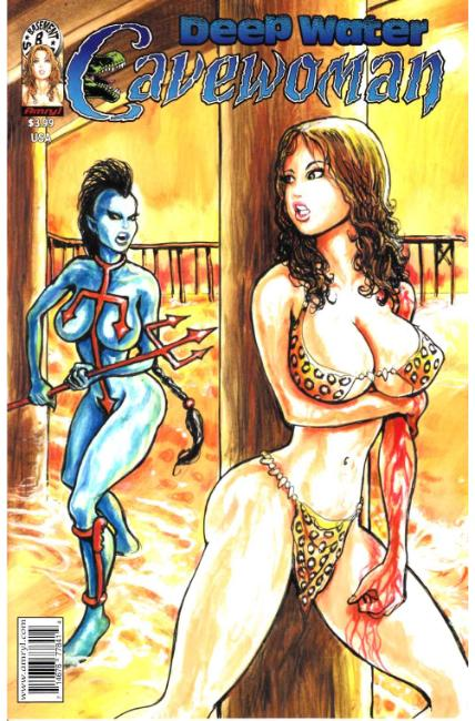 Cavewoman Deep Water #1 Cover A [Amryl Comic] THUMBNAIL
