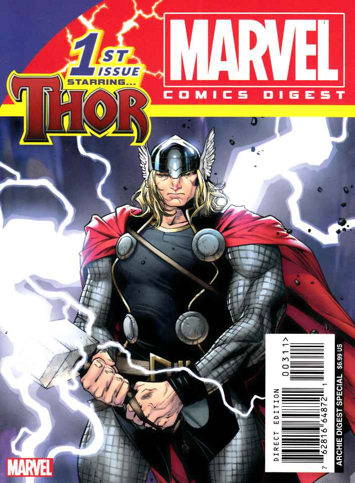 Marvel Comics Digest #3 Thor [Archie Comic]