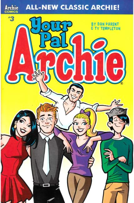 All New Classic Archie Your Pal Archie #3 Cover A [Archie Comic]_THUMBNAIL