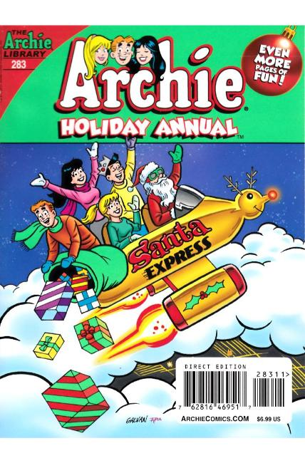 Archie Comics Annual Digest #283 [Archie Comic] THUMBNAIL