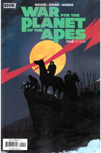 War For Planet of the Apes #4 [Boom Comic] THUMBNAIL