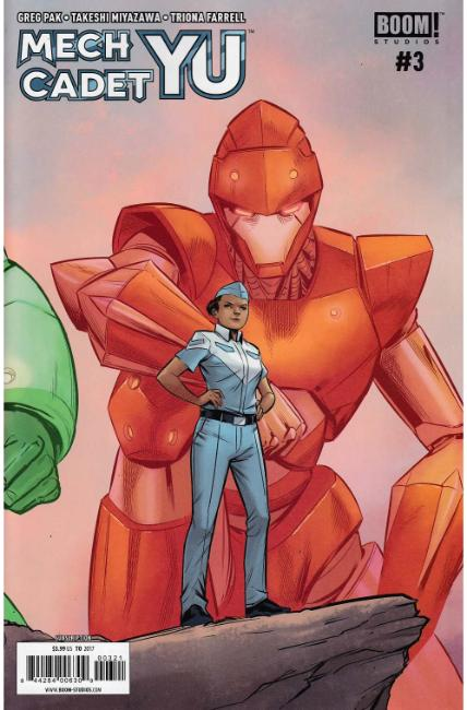Mech Cadet Yu #3 Subscription Cover [Boom Comic]
