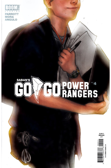 Go Go Power Rangers #4 Cover B [Boom Comic] THUMBNAIL