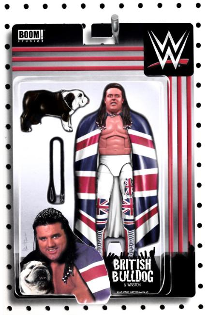 WWE #10 Unlockable Action Figure Cover [Boom Comic] LARGE