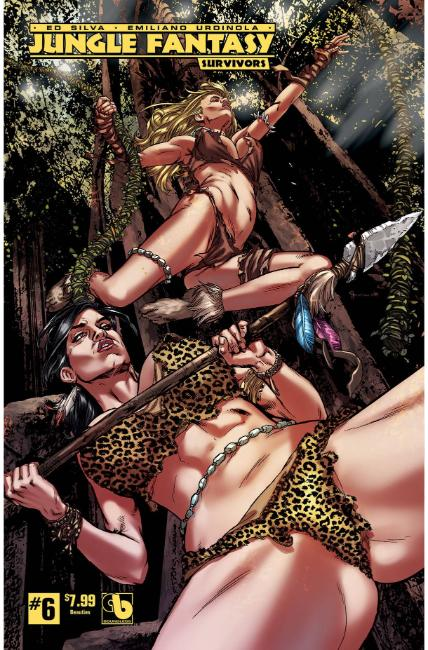 Jungle Fantasy Survivors #6 Beauties Cover [Boundless Comic]_LARGE