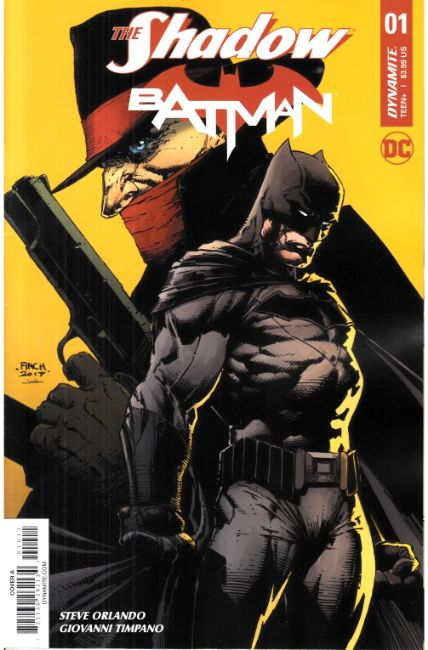 Shadow Batman #1 Cover A [Dynamite Comic] THUMBNAIL