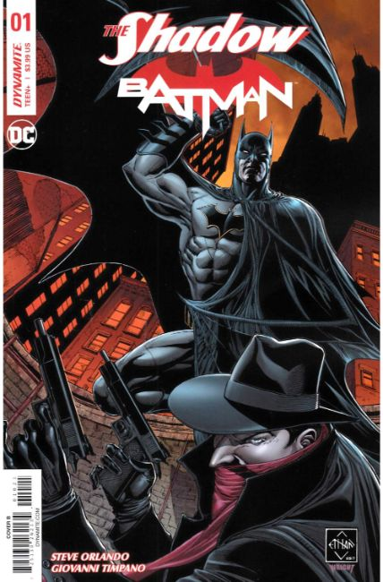 Shadow Batman #1 Cover B [Dynamite Comic] THUMBNAIL