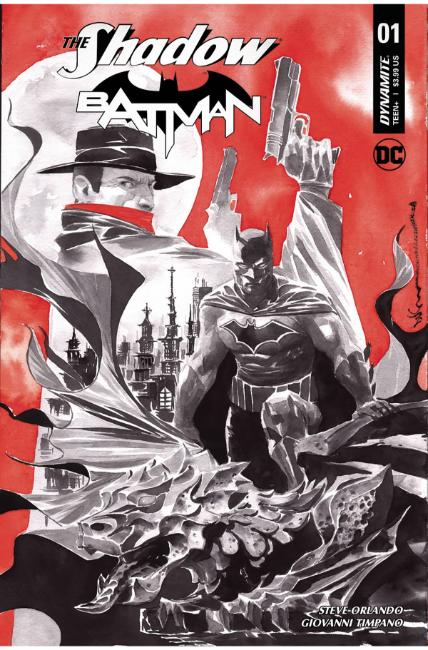 Shadow Batman #1 Cover D [Dynamite Comic] THUMBNAIL