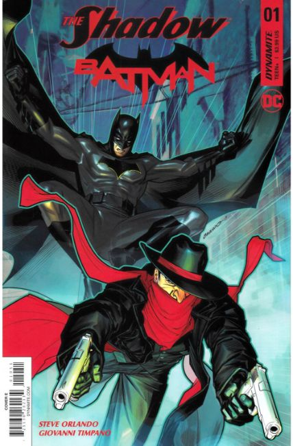 Shadow Batman #1 Cover E [Dynamite Comic] THUMBNAIL