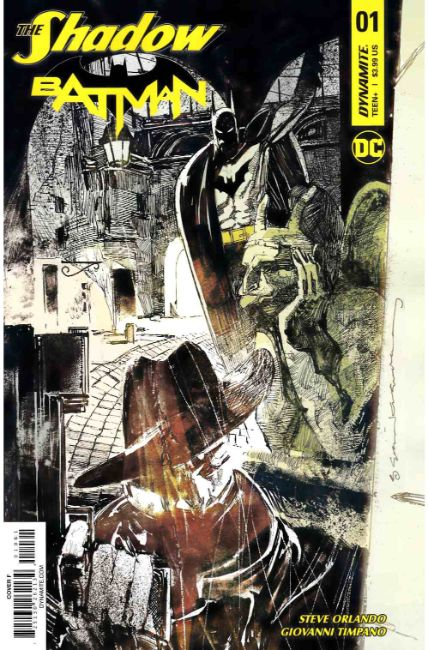 Shadow Batman #1 Cover F [Dynamite Comic] THUMBNAIL