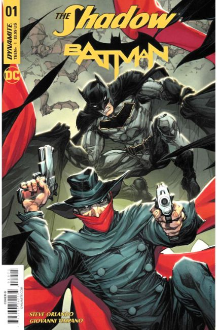 Shadow Batman #1 Cover G [Dynamite Comic] THUMBNAIL