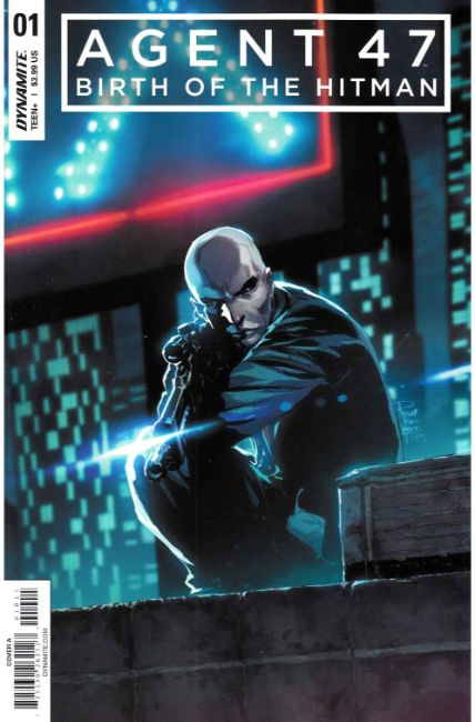 Agent 47 Birth of Hitman #1 Cover A [Dynamite Comic] THUMBNAIL