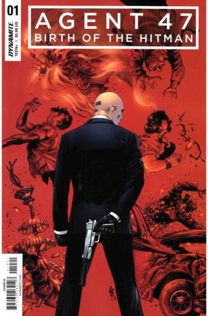 Agent 47 Birth of Hitman #1 Cover B [Dynamite Comic] THUMBNAIL