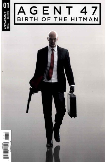 Agent 47 Birth of Hitman #1 Cover C [Dynamite Comic] THUMBNAIL