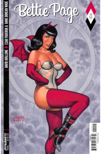 Bettie Page #4 Cover A [Dynamite Comic] THUMBNAIL