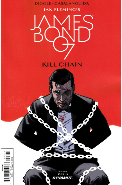 James Bond Kill Chain #4 [Dynamite Comic] THUMBNAIL