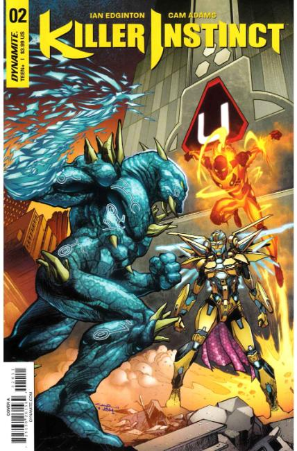Killer Instinct #2 Cover A [Dynamite Comic] THUMBNAIL