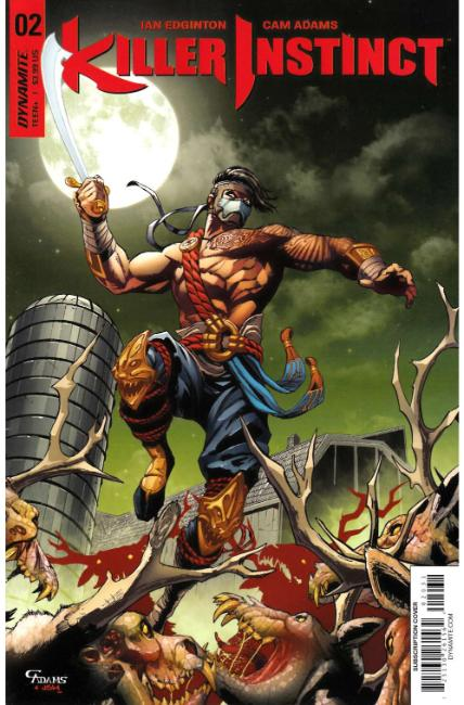 Killer Instinct #2 Cover C [Dynamite Comic] THUMBNAIL