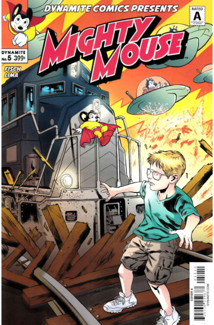 Mighty Mouse #5 Cover A [Dynamite Comic] THUMBNAIL