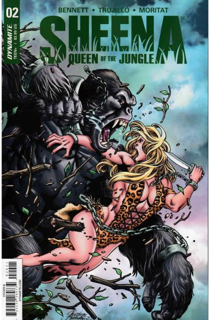 Sheena #2 Cover B [Dynamite Comic] THUMBNAIL