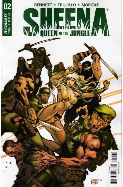 Sheena #2 Cover C [Dynamite Comic] THUMBNAIL