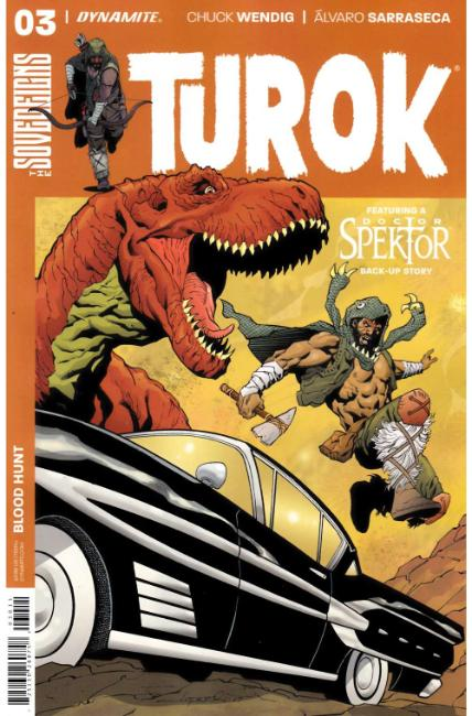 Turok #3 Cover A [Dynamite Comic] LARGE