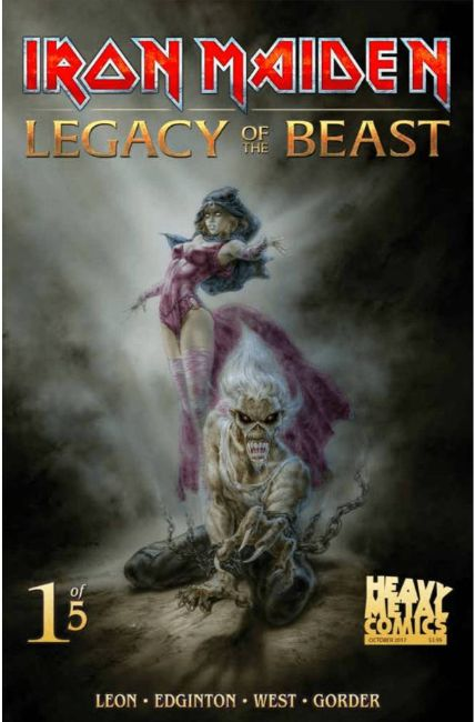 Iron Maiden Legacy of the Beast #1 Cover B [Heavy Metal Comic]