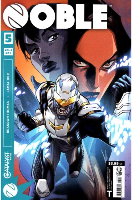 Catalyst Prime Noble Volume 2 #1 [Lion Forge Comic] LARGE