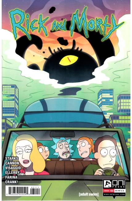 Rick & Morty #31 [Oni Press Comic]