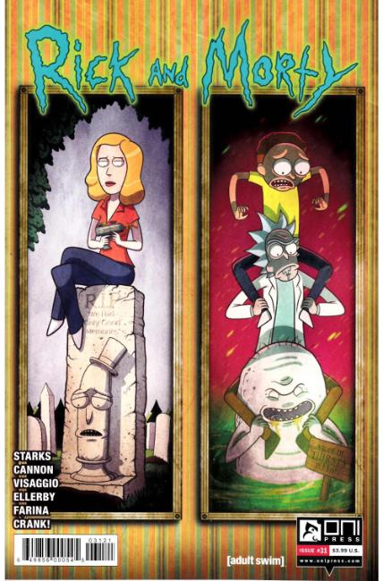 Rick & Morty #31 Vasquez Variant Cover [Oni Press Comic]