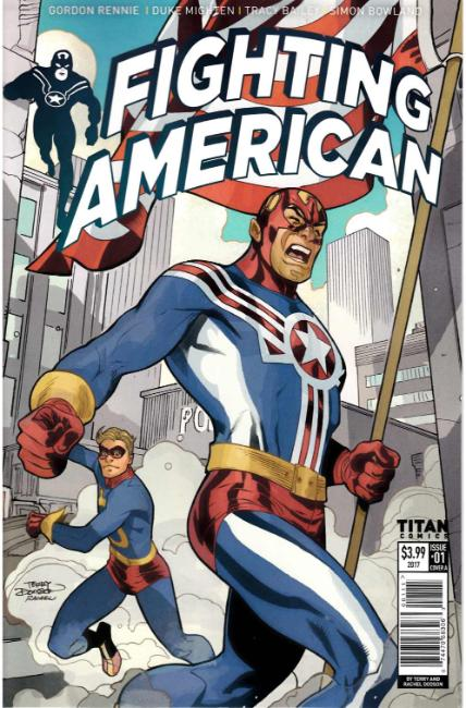 Fighting American #1 Cover A [Titan Comic] THUMBNAIL