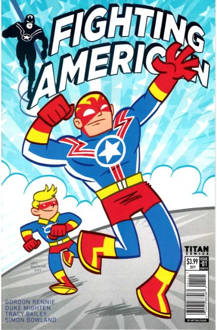 Fighting American #1 Cover B [Titan Comic] THUMBNAIL